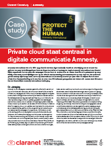 Case study Amnesty International