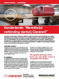 Case study Vanderlande