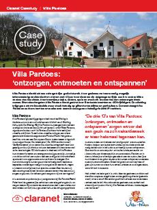 Case study Villa Pardoes