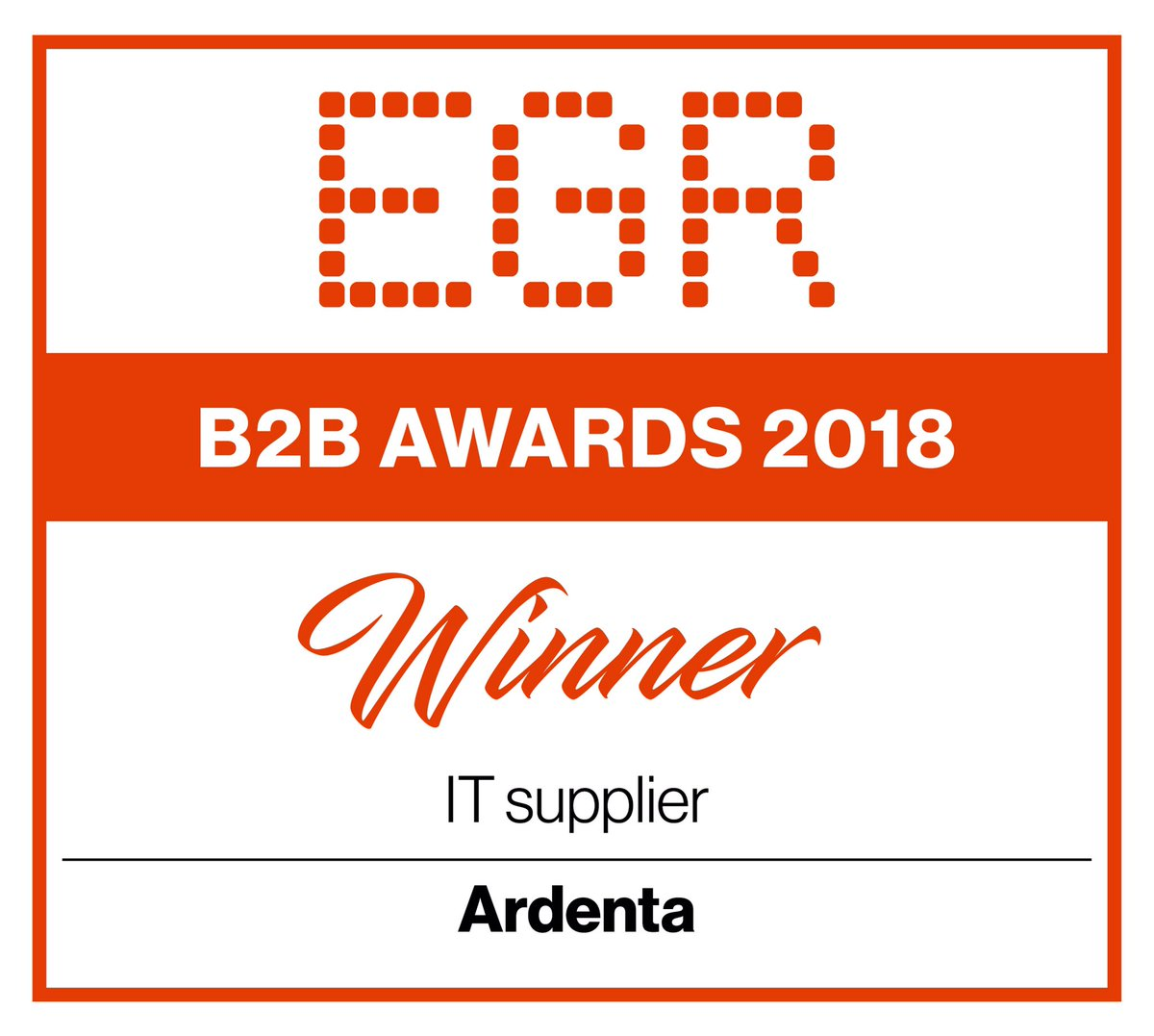 B2B Awards 2018 Ardenta Claranet