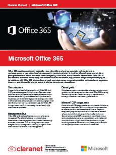 Product leaflet Office 365